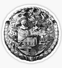 Genetti Coat-of-Arms (Stemma) Sticker