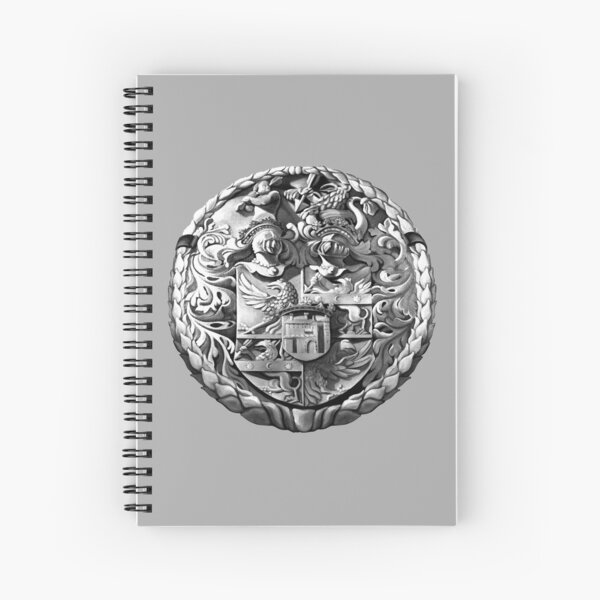 Genetti Coat-of-Arms (Stemma) Spiral Notebook