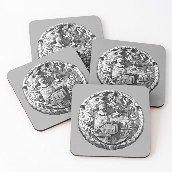 Genetti Coat-of-Arms (Stemma) Coasters (Set of 4)