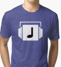 NoteBlock Logo Tri-blend T-Shirt