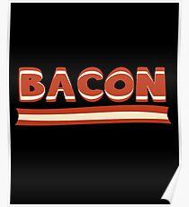 Keto Bacon Funny Gift - Ketogenic Humor Poster