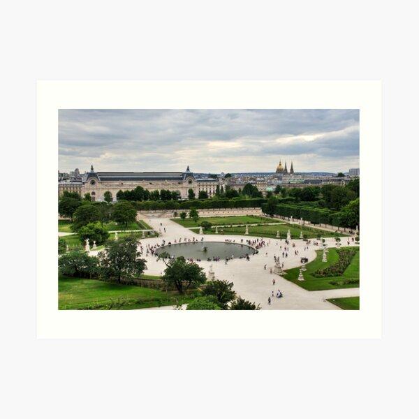 Les Tuileries, Paris Art Print