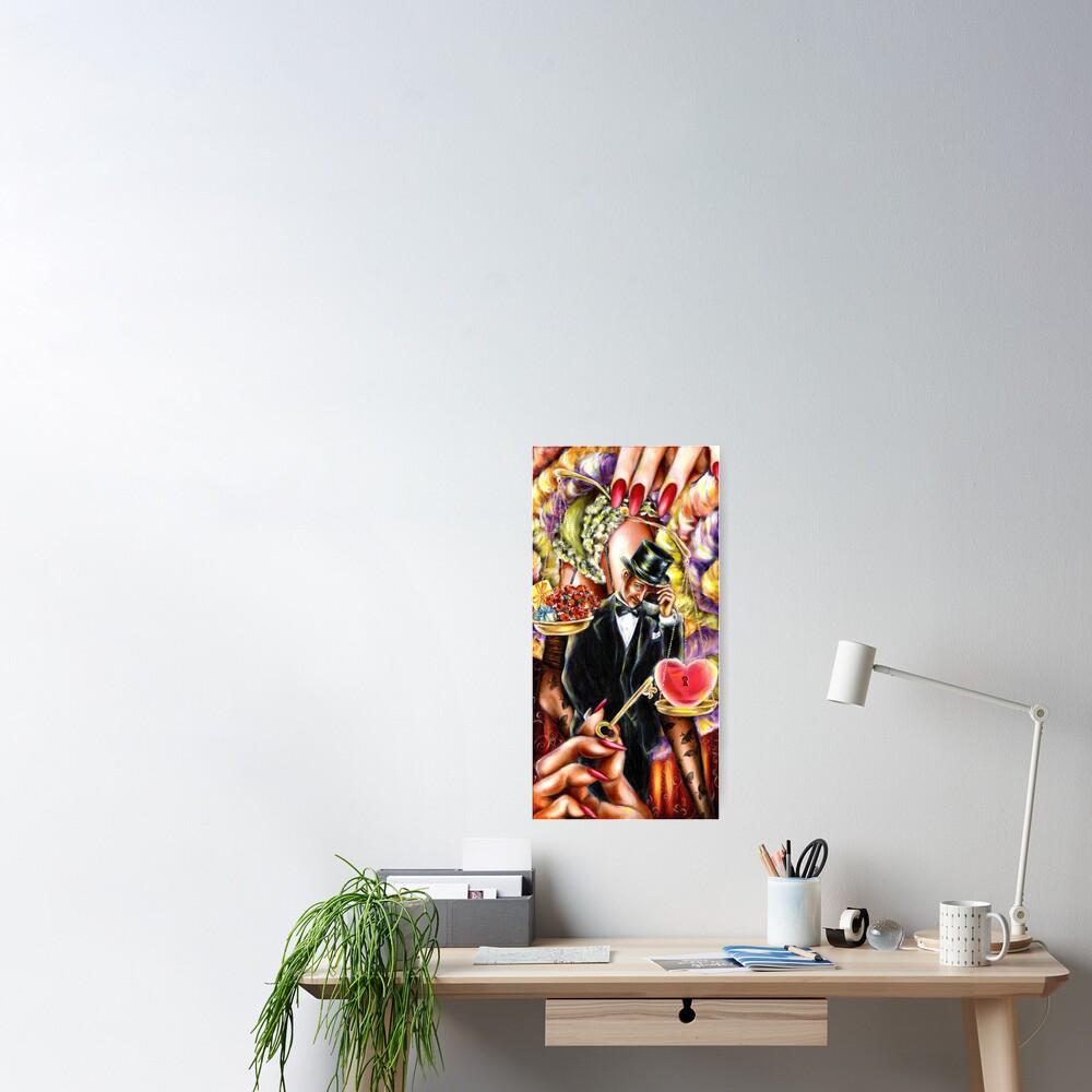 12 sign series - Libra Poster