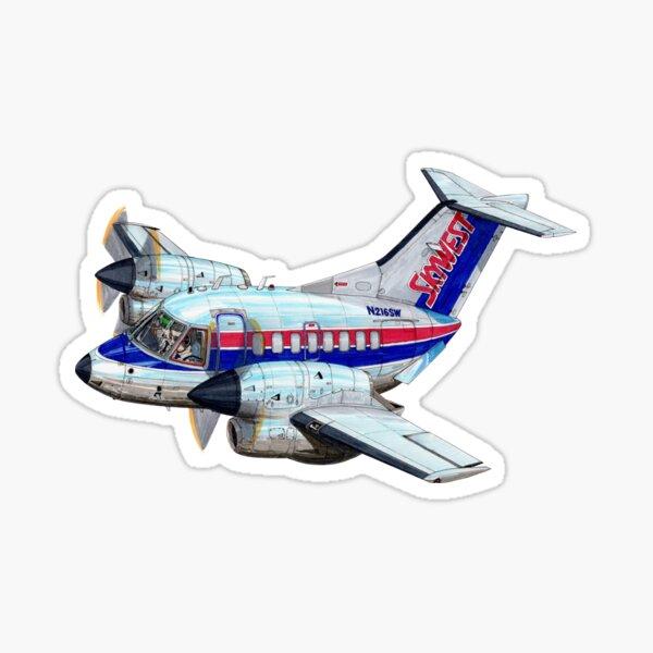 Embraer EMB-120 Brasilia Sticker