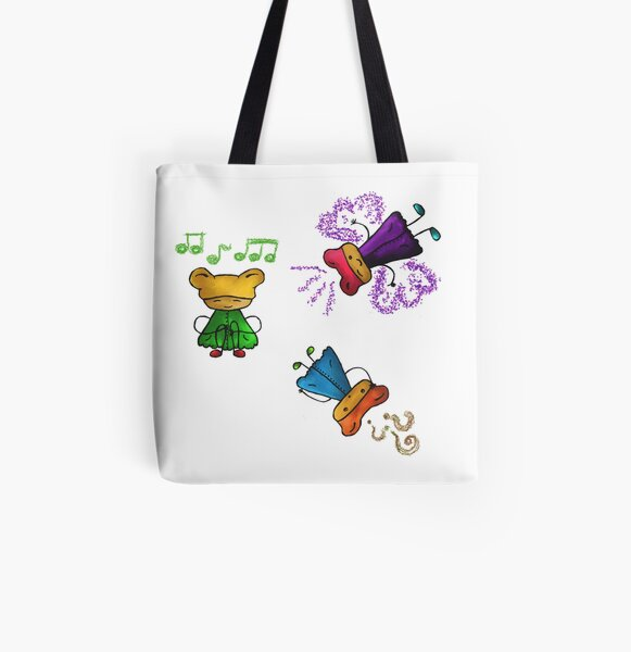 Cute cartoon All Over Print Tote Bag