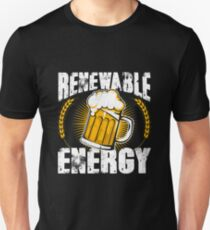 Renewable Beer Energy Unisex T-Shirt
