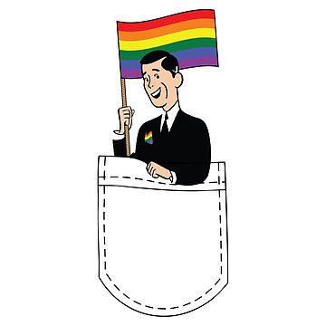 Gay Friendly Pocket Guy by radvas