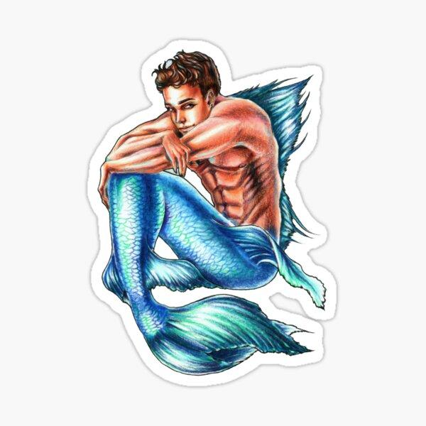 Lone Merman Sticker