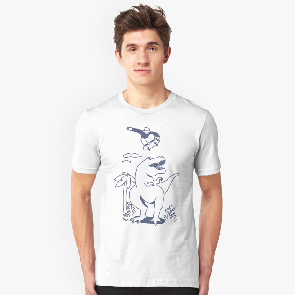 Jurassic Skatepark Slim Fit T-Shirt