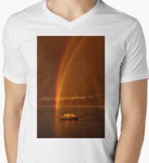 """""""Twofold Covenant"""" Men's V-Neck T-Shirt"""