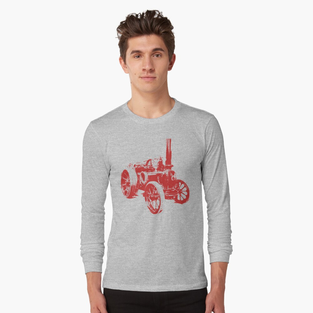 The Steam Tractor  Long Sleeve T-Shirt
