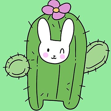 Happy Cactus Bunny by SaradaBoru