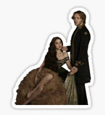 Mary and Francis Sticker