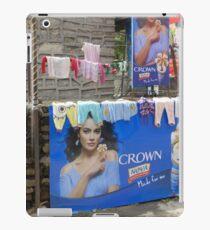 Pokhara washing line iPad Case/Skin