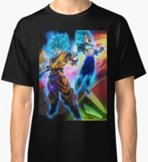 Dragonball Super: Goku, Vegeta, Broly Classic T-Shirt