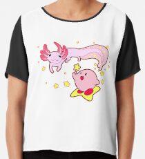 Kirby and the Axolotl Chiffon Top
