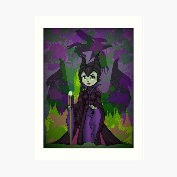 Mistress of All Evil Art Print