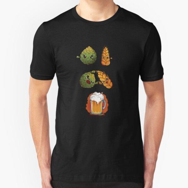BEER FUSION Slim Fit T-Shirt