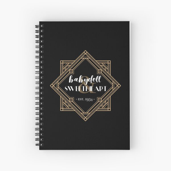 Babydoll & Sweetheart Spiral Notebook