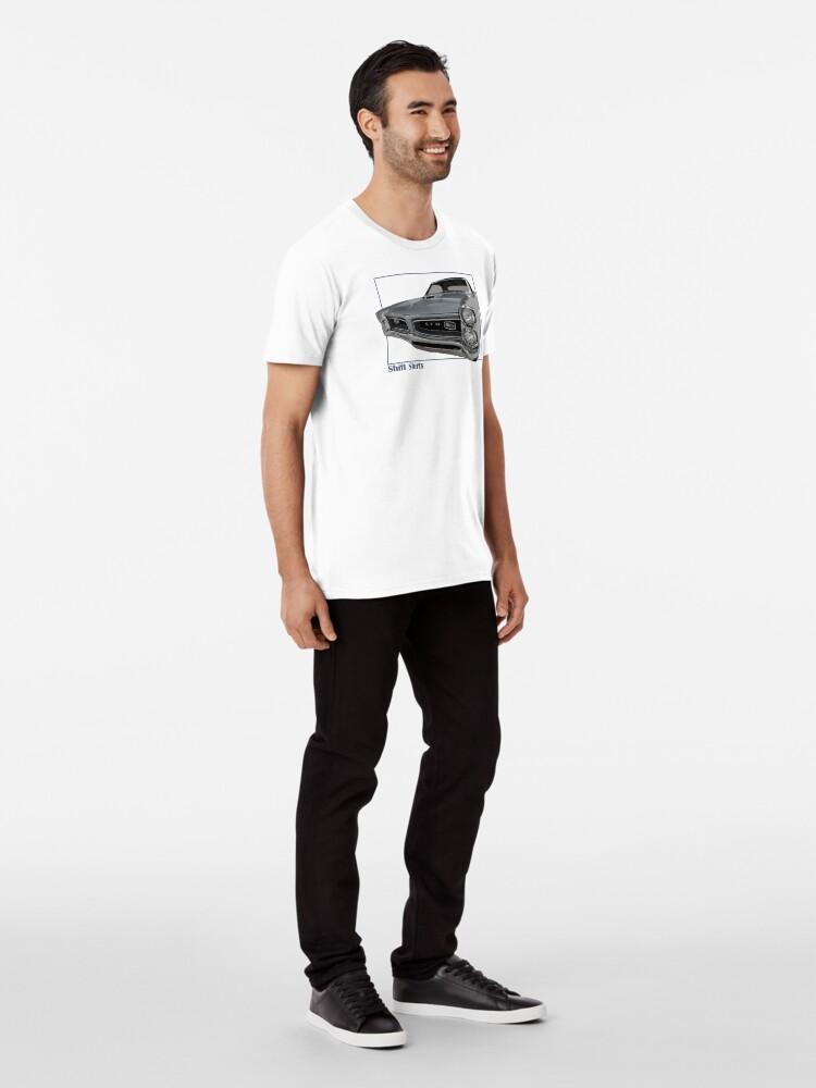 Alternate view of Shift Shirts Goat - GTO Inspired  Premium T-Shirt