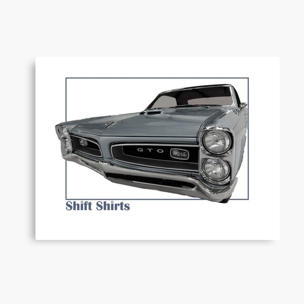 Shift Shirts Goat - GTO Inspired  Canvas Print
