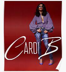 Cardi B  Poster