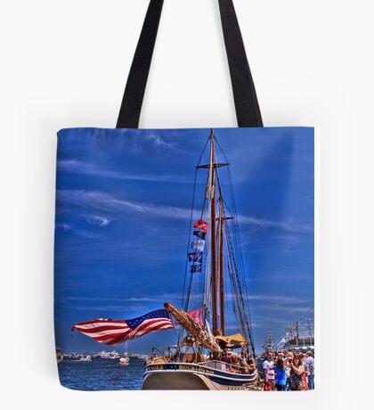 Sail Boston - American Eagle   Tote Bag