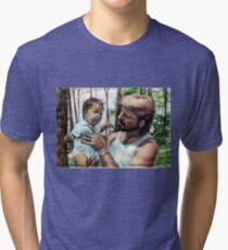 Father and Son Tri-blend T-Shirt