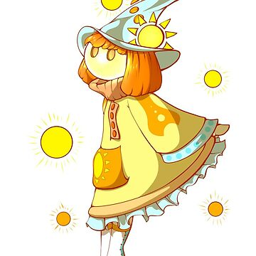 Solar Marble Witch by TeddiBura