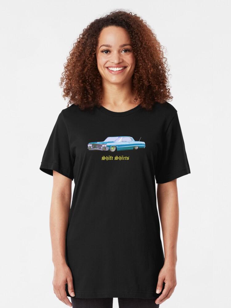 Alternate view of Shift Shirts Lowrider - 64 Impala Inspired Slim Fit T-Shirt