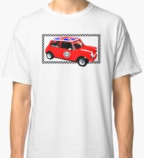Shift Shirts Small Packages – Morris Mini Cooper Inspired Classic T-Shirt