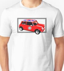 Shift Shirts Small Packages – Morris Mini Cooper Inspired Unisex T-Shirt