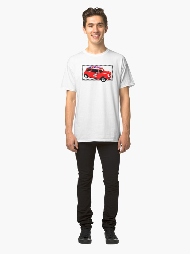 Alternate view of Shift Shirts Small Packages – Morris Mini Cooper Inspired Classic T-Shirt