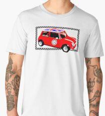 Shift Shirts Small Packages – Morris Mini Cooper Inspired Men's Premium T-Shirt