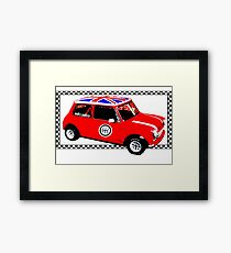 Shift Shirts Small Packages – Morris Mini Cooper Inspired Framed Print