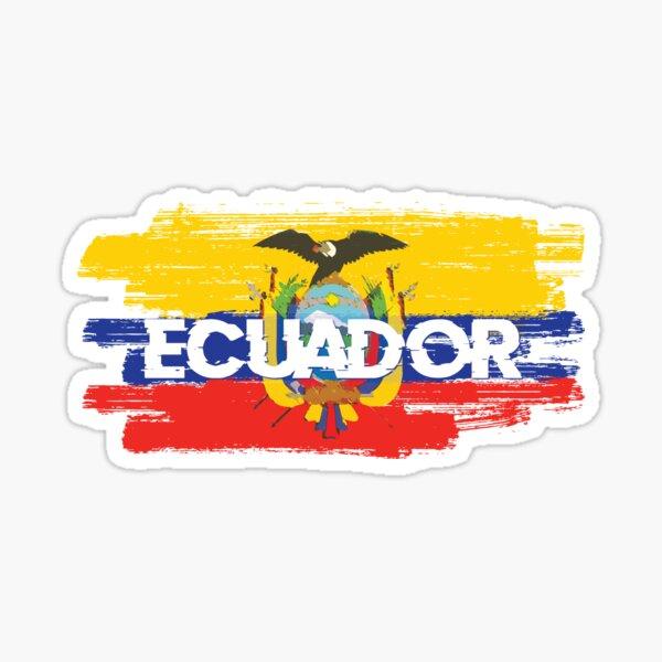 Bandera ecuador Pegatina