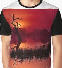 """Merlot Dawn"" Graphic T-Shirt"