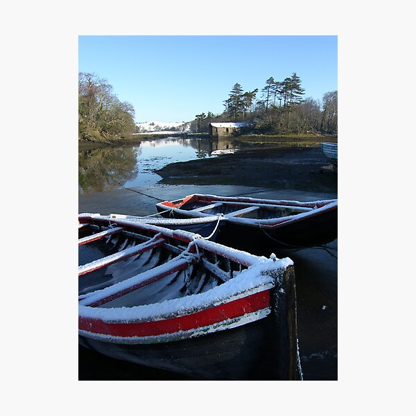 The Old Boathouse Photographic Print