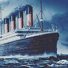 Icefield | Titanic Painting | Art by Eliott Cha'coco by EliottChacoco