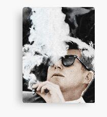 Cigar Smoker Cigar Lover JFK Gifts Canvas Print