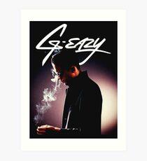g eazy and the smoke Art Print