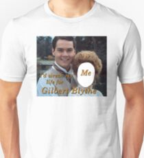 I'd Wreck My Life for Gilbert Blythe Slim Fit T-Shirt