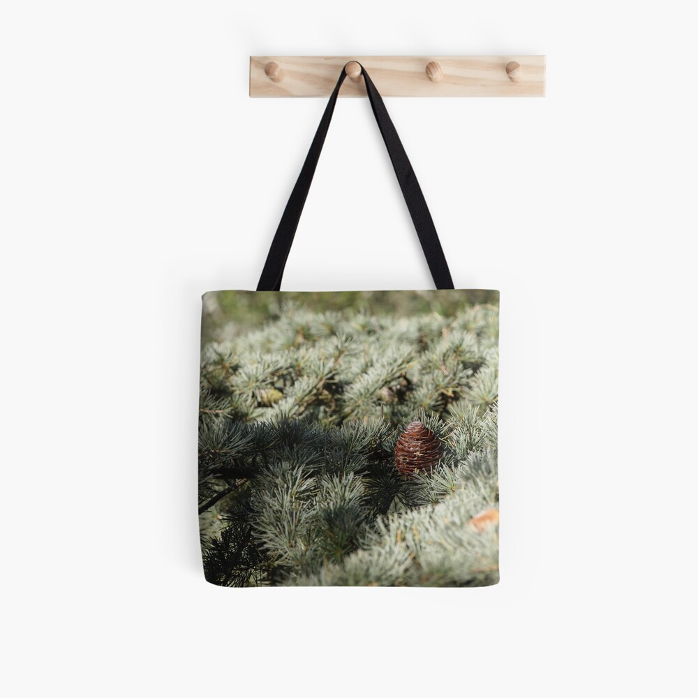 In the woods - Fir Tree Tote Bag
