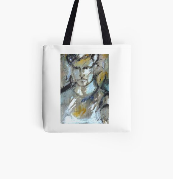 Man  All Over Print Tote Bag