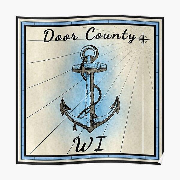 Door County Wisconsin  Poster