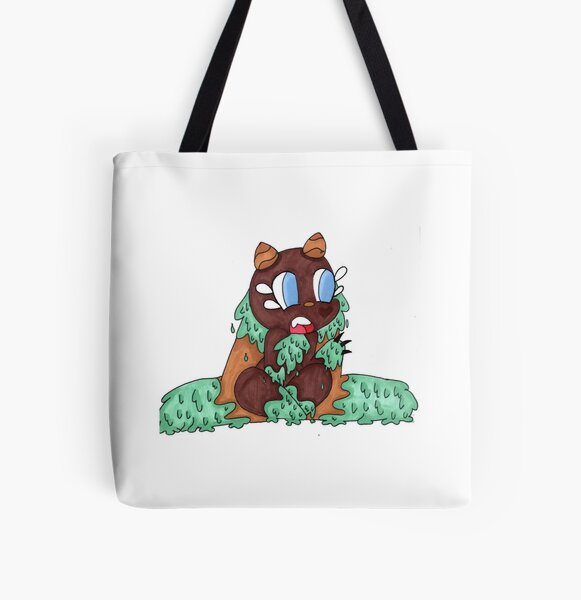 Woodland Creature All Over Print Tote Bag
