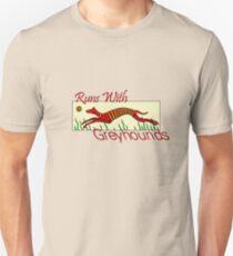 Runs With Greyhounds T-Shirt