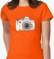 Camera  Women's Fitted T-Shirt