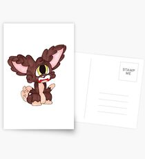 Fretting Fox Postcards