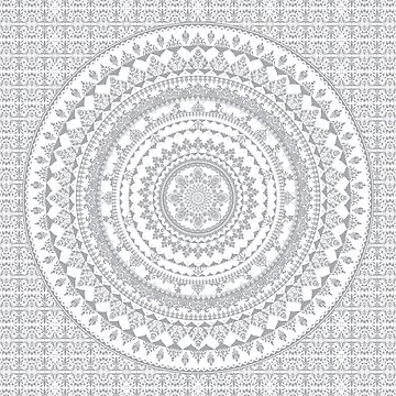 Mandala Gray by Echolite